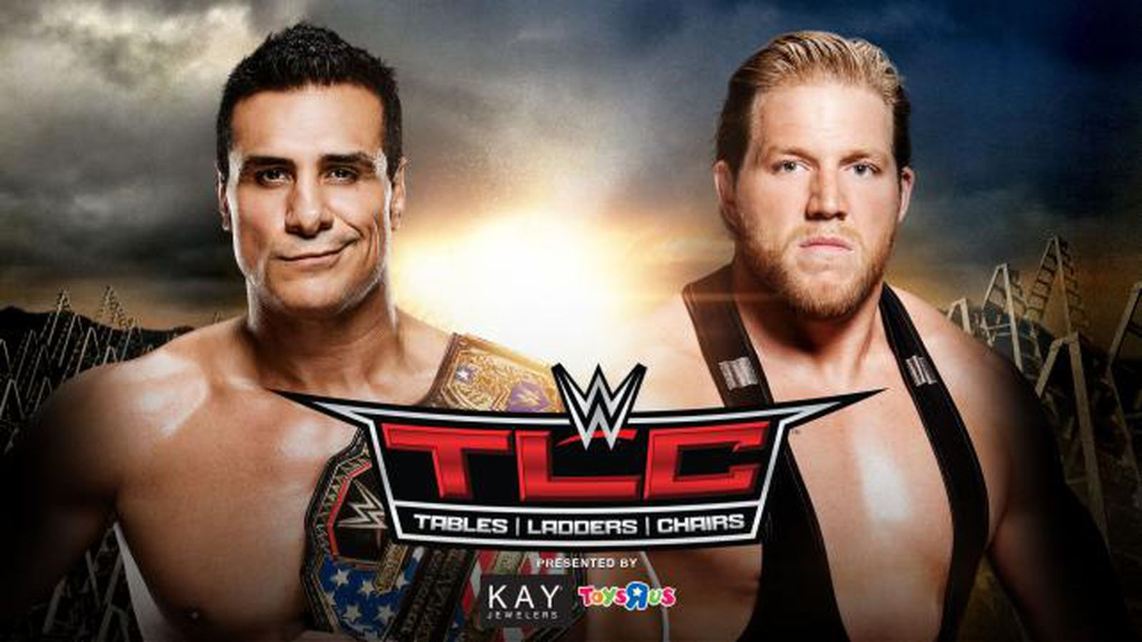 steel chair used in wwe lay down beach chairs tlc 2015 jack swagger vs alberto del rio full match