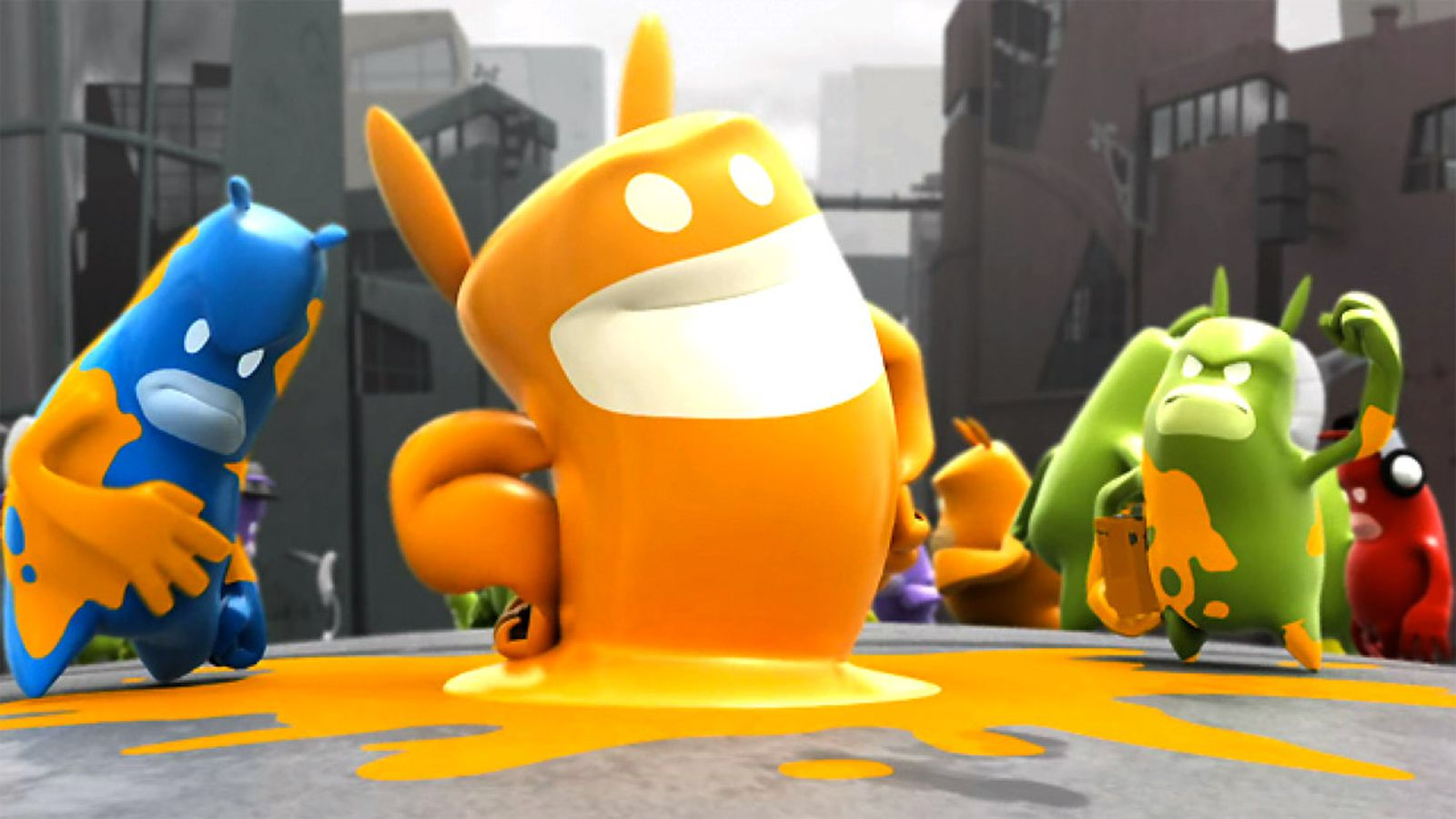 THQs de Blob rights picked up by Nordic Games  Polygon