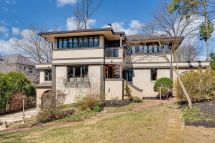 Frank Lloyd Wright-inspired Home In Arlington