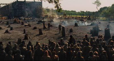 A scene of devastation from Noah