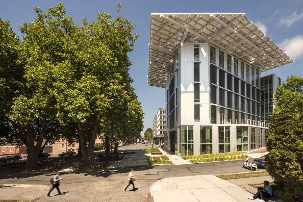 Seattle's Bullitt Center, arguably the greenest building in the country.
