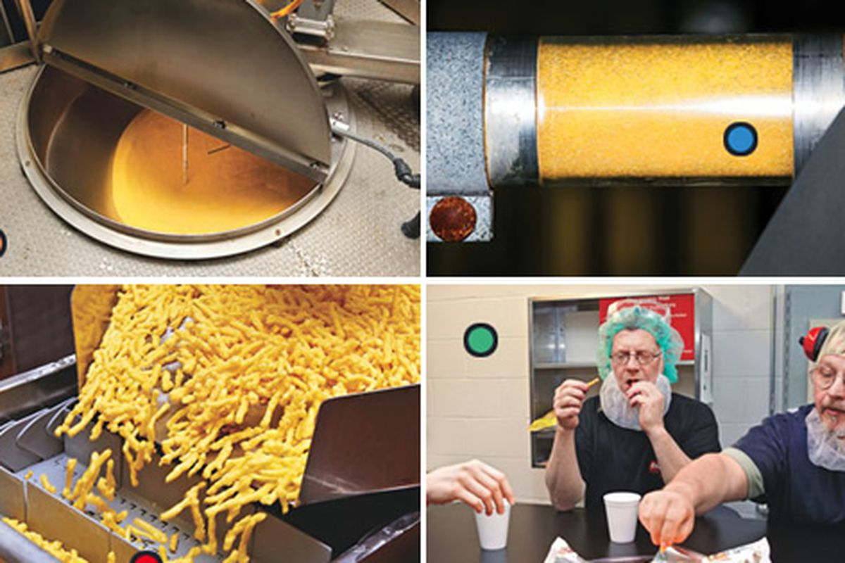 how cheetos are made