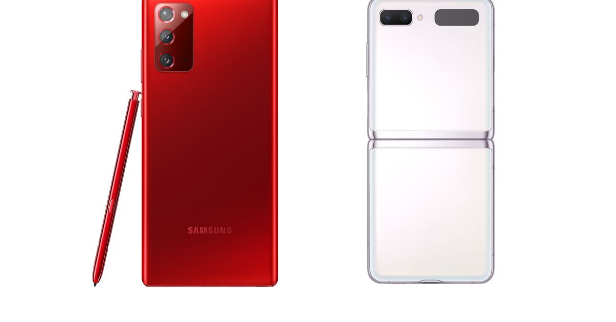 Samsung's Note 20 5G and Z Flip 5G now available in festive red and white colors