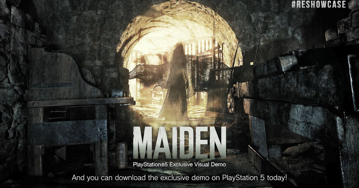 You can now play Resident Evil Village's 'Maiden' demo on PS5