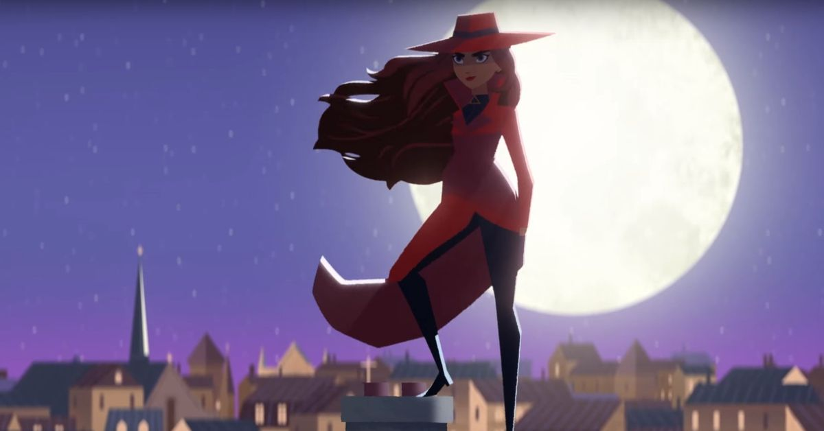 Persona 4 The Animation Wallpaper Carmen Sandiego Is Going To Crime School In Her New