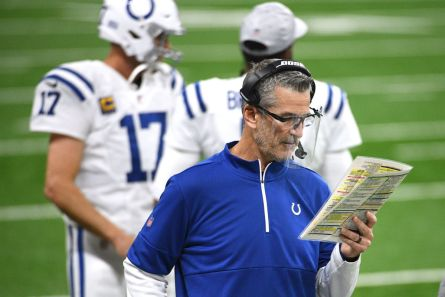 Colts Head Coach Frank Reich Week 8 Post-Game Conference Call - Stampede  Blue