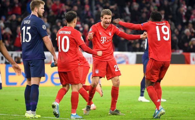 Bayern Munich 3 1 Tottenham Spurs Lose Champions League Group Stage Finale In Germany
