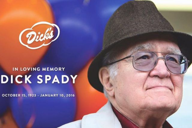 Dick Spady Founder Of Dicks Drive In Passes Away At 92