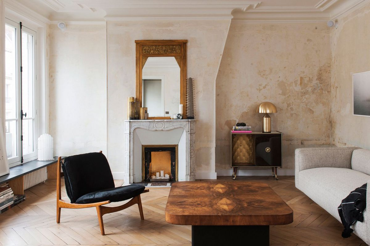 Best Kitchen Gallery: Classic Paris Apartment Goes Minimal With Stark Renovation Curbed of Paris Apartment  on rachelxblog.com