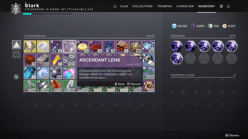 Destiny 2 Ascendant Lens