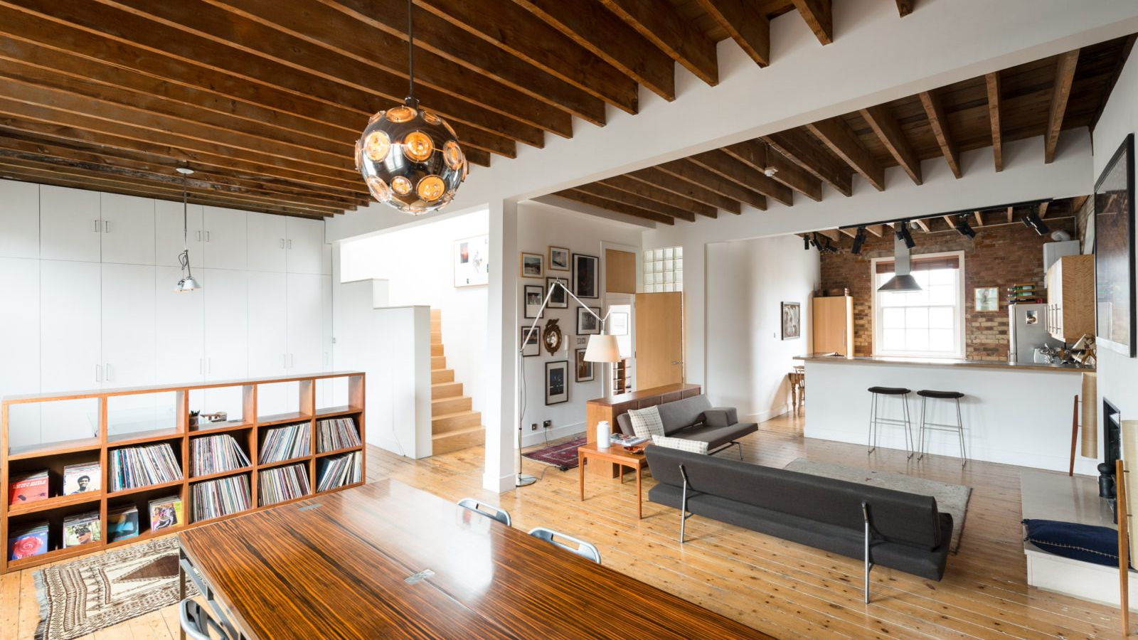Converted loft with roof terrace asks 24M in London  Curbed