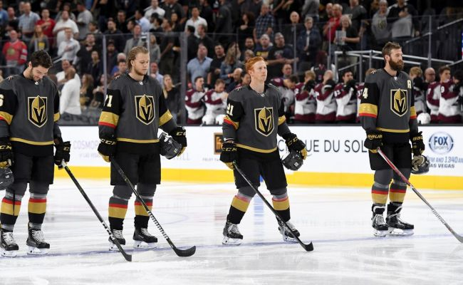 Oct 6 2017 Vegas Golden Knights At Dallas Stars First