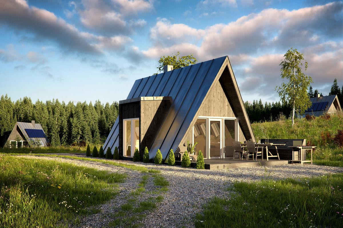 Aframe house kits offer affordability and quick build