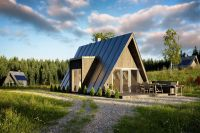 A-frame house kits offer affordability and quick build ...