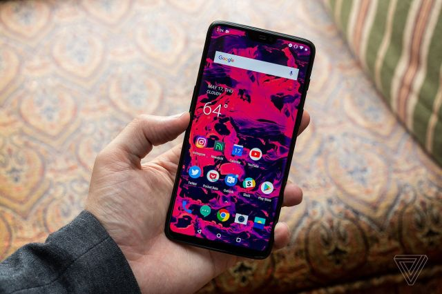 In usual OnePlus tradition, the OnePlus 6 released earlier this year (above) will soon be succeeded.