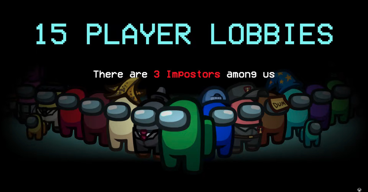 Among Us expands to 15 player lobbies on June 15th