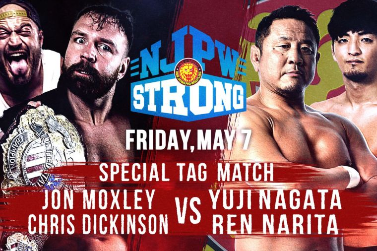 You won't have to wait until May 12 to get some Moxley/Nagata action