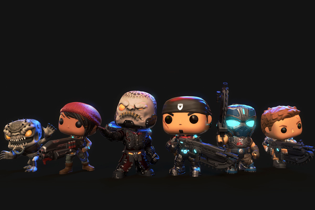 Resident Evil 7 Wallpaper Hd Gears Of War Meets Funko Pop In New Mobile Game Polygon