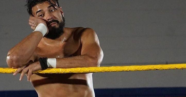 Andrade's working Twitter about leaving WWE again, unless he isn't