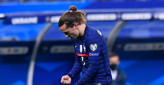 Griezmann on target in the French draw