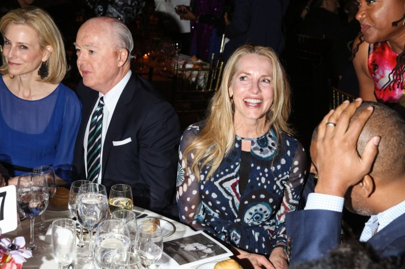 Laurene Powell Jobs at the 2018 Gordon Parks Foundation Gala