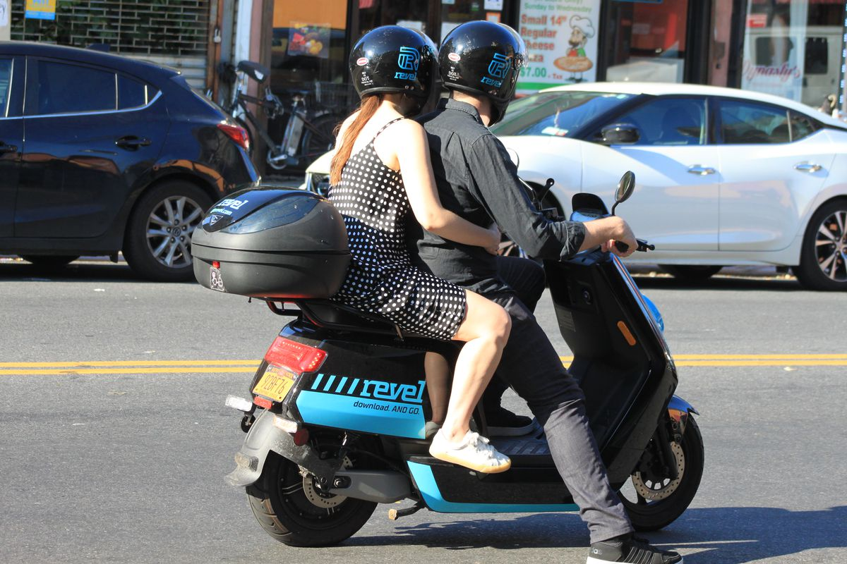 shared mopeds launch in