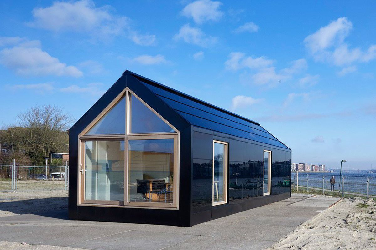 Prefab Home Concept Is Modular And Solar Powered