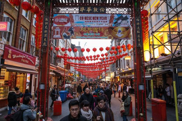 Chinatown In London Shut Immigration Protest Today - Eater