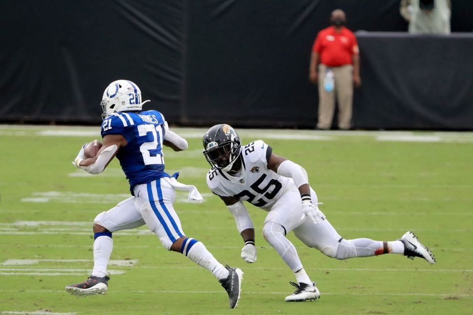 Nyheim Hines has the Colts off and running - Backing The Pack