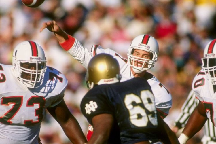 How the Notre Dame-Miami rivalry earned the nickname 'Catholics vs ...