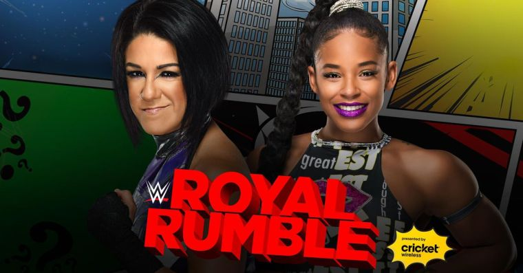 Bayley, Bianca Belair declare for women's Royal Rumble match