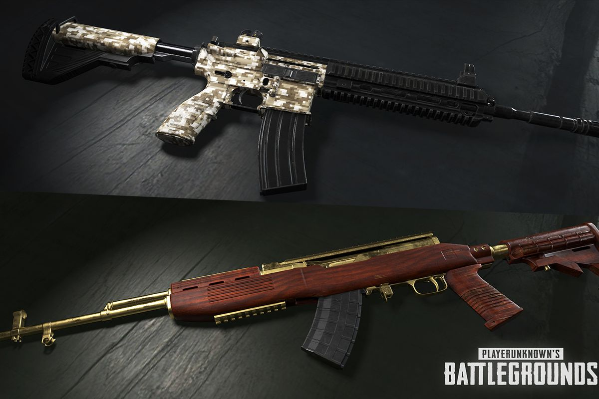 PUBG is finally getting weapon skins  Polygon