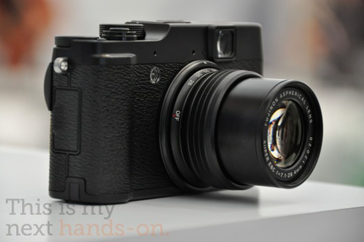 Fujifilm X10 Price Pictures Video And Our Hands On