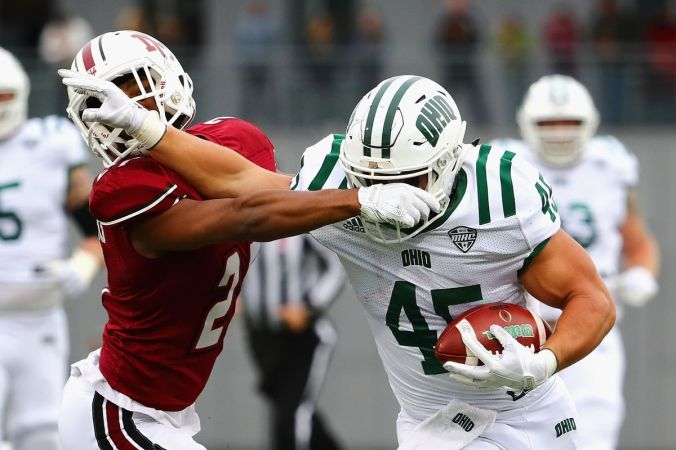 Image result for UMass Minutemen vs. Ohio Bobcats