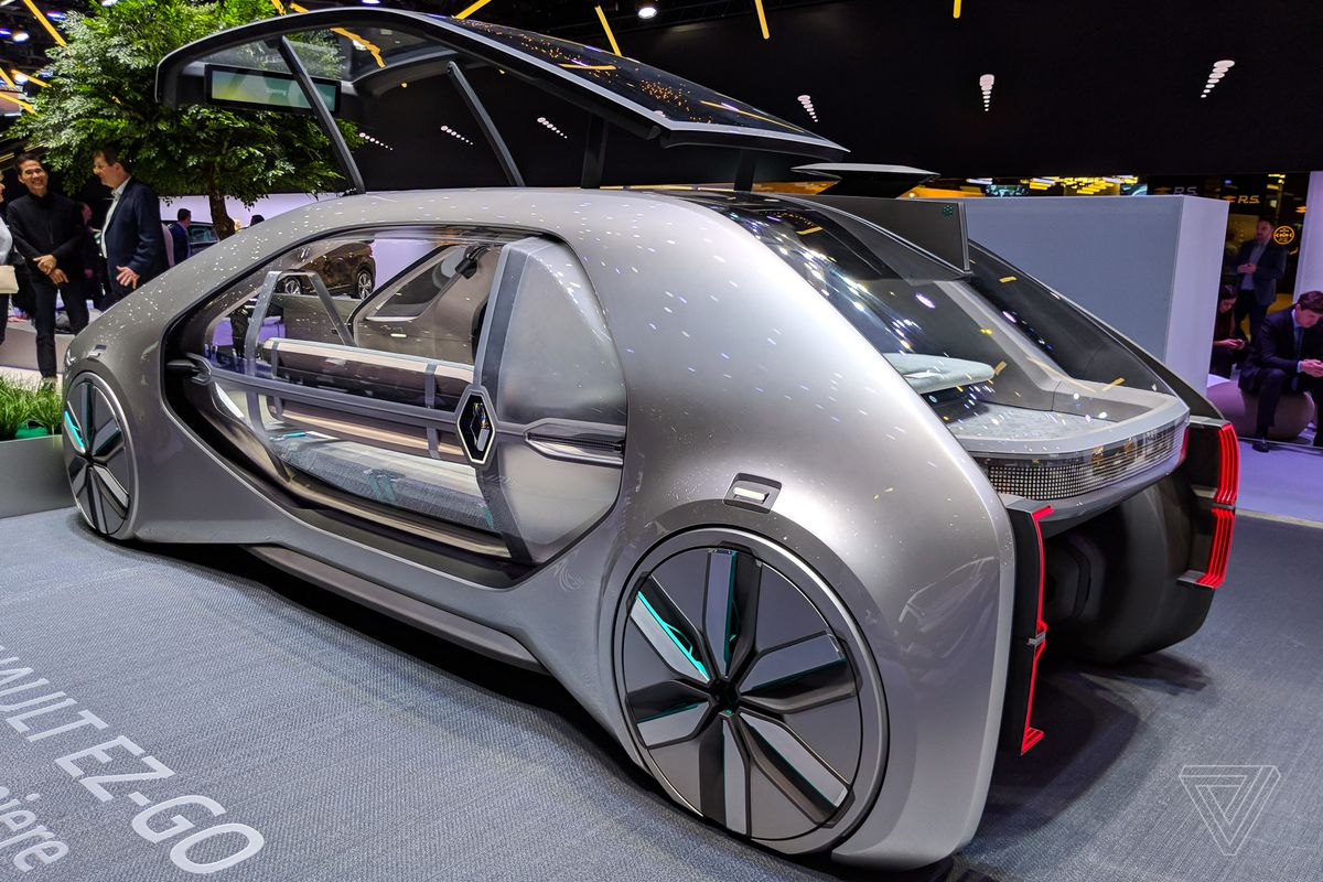 ez go electrical wiring diagram in autocad renault s concept car is a robot taxi from the future verge after premiere here at geneva motor show i discussed super ambitious plan with patrick vergelas who charge of