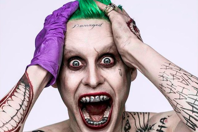 Jared Leto Joker from Suicide Squad