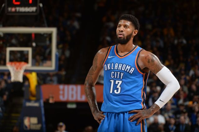 Paul George on his time in Oklahoma City so far: 'I'm happy here ...