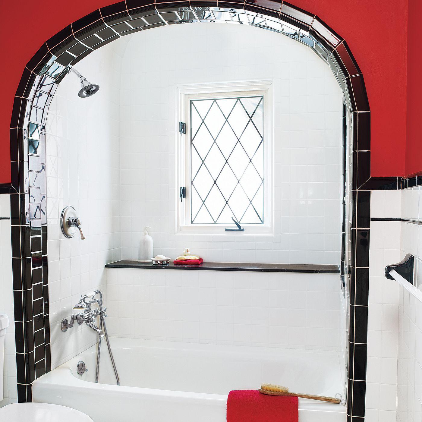 a 1930s shared bath gets a revamp