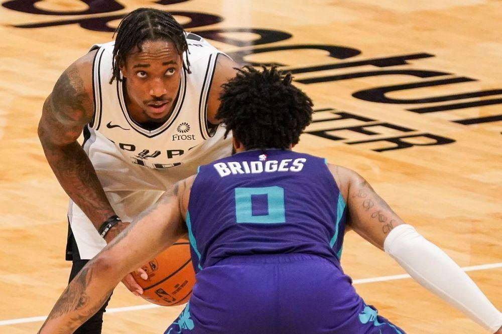 Αποτέλεσμα εικόνας για San Antonio Spurs Charlotte Hornets 122-110
