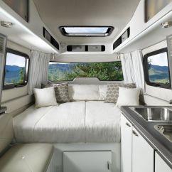 Compact Kitchen Sink Large Sinks Airstream's New Trailer, Nest, Offers Luxury For ...