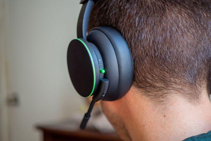 Fone de ouvido sem fio Xbox