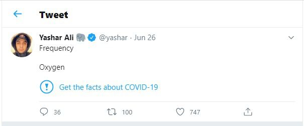 Twitter promises to fine-tune its 5G coronavirus labeling after unrelated tweets were flagged 3