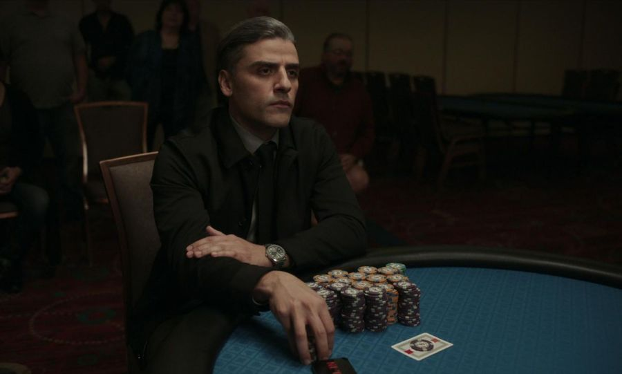 Oscar Isaac as William Tell in The Card Counter
