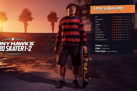 Tony Hawk's Pro Skater 1+2 remaster will feature classic pro skaters at their current ages - Polygon