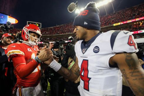 How The Patrick Mahomes Contract Extension Affects Deshaun Watson ...