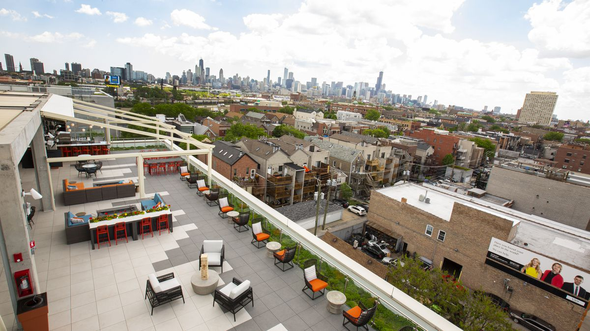 The Kennedy the new Wicker Park rooftop bar is open ...