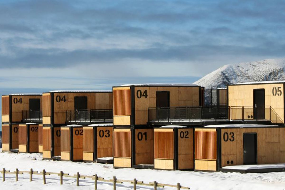 Shipping container hotel can travel around the world  Curbed