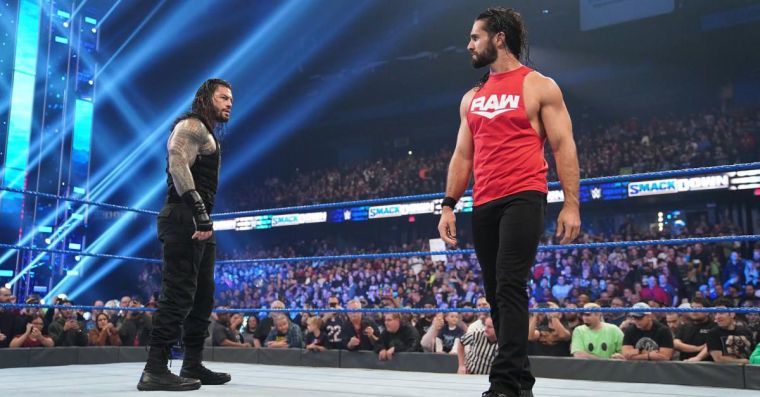 SmackDown isn't big enough for both Rollins & Reigns