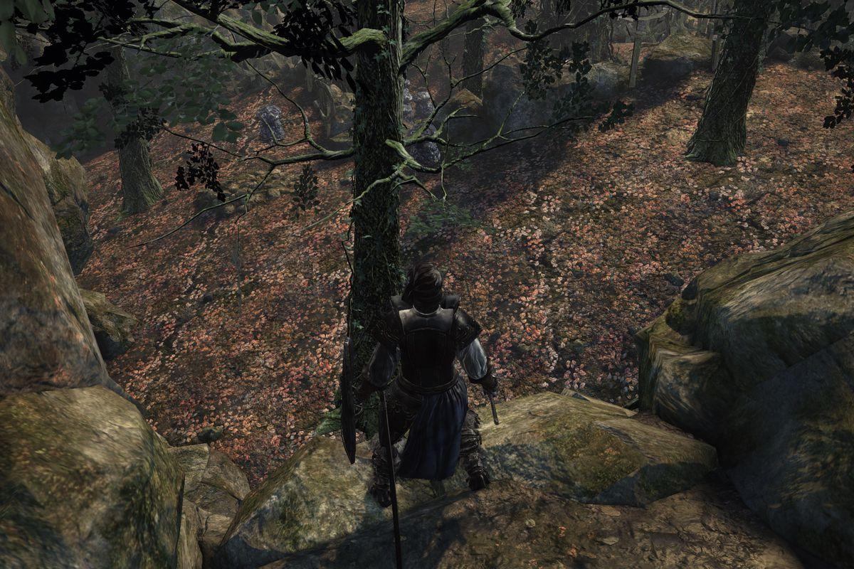 Girl Eyes Looking Up Wallpaper Dark Souls 3 Road Of Sacrifices Walkthrough Polygon