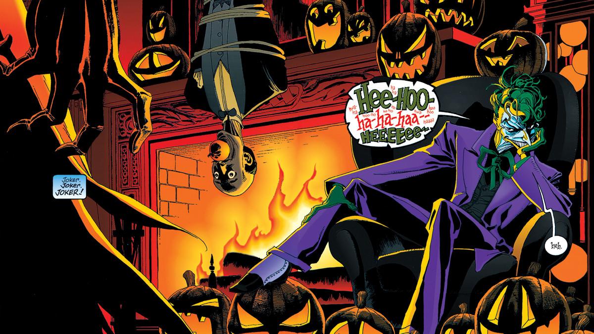 Dark Knight Joker Quotes Wallpaper Hd The Best Batman Halloween Comic Stars The Joker As A Ghost